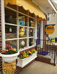 Our storefront in Haddonfield NJ